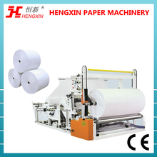 parent rolls cutting & rewinding machine,toilet paper manufacturing machine