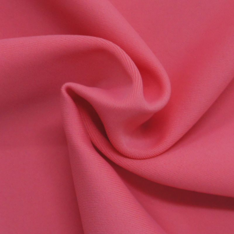 Anti uv solid swim fabric,82 nylon 18 spandex swimwear fabric