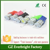 Trade Assurance LED car light T10 194 168 COB 24SMD Width Lamps Transformation from 2 Modes Steady and Strobe Car t10