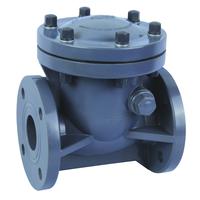 POV 4 inch flanged pvc check valve 3d drawings high quality cheap
