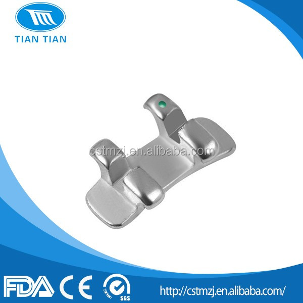 Gliding Full Program Straight Wire Molar Brackets For 1st Molar/Orthodontic Dental Molar Bracket
