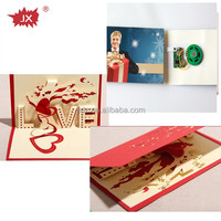 New design invitation wedding musical cards