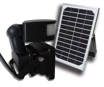 10W Good Guarantee Motion Sensor Solar Flood Lights With Timer