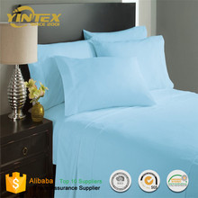 Home & Garden &Hospital Soft Like Cotton Fabric 100% Microfiber Bed Sheet Set