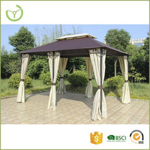 Easy assembling 3X4m outdoor patio used aluminm rome gazebo tent for sale with side wall