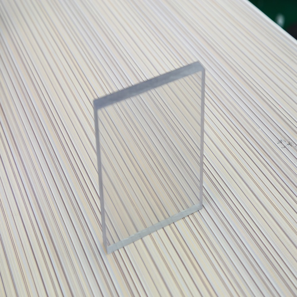 Clear cast acrylic pmma sheet with custom size