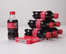 custom silicone rubber made product new creative bottle clip