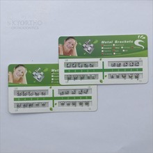 roth monoblock brace 018 345 hook orthodontic brackets with CE ISO FDA