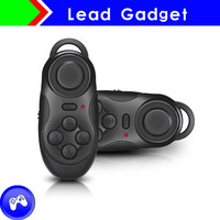HIgh Quality Wireless Bluetooth mini camera control remote for 3d glasses vedio games for iPhone/Android mobile