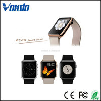 Vondo Cheapest Android Smart Watch ZY06 Support Music And Touch Remote Camera Wholesale Smart Watch Phone