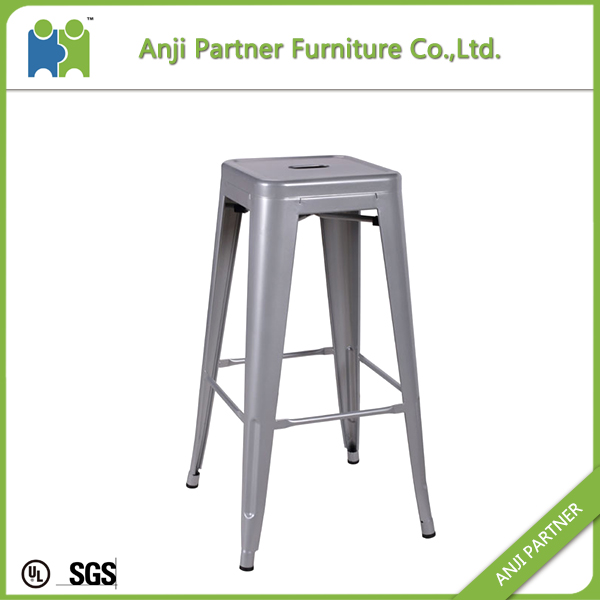 China wholesale modern furniture powder coating metal chair(Fengshen)