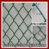 Aluminum material and electric braid Popular Chain Link Fence