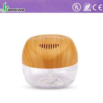 Hot sale mini air conditioner 6 color LED light smart mini air purifier
