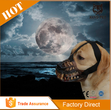 Festival disguise werewolf dog muzzle with fierce expression