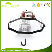 Popular straight printing beach umbrella for advertising promotion