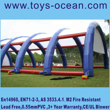 inflatable tents for paintball, laser, tennis games
