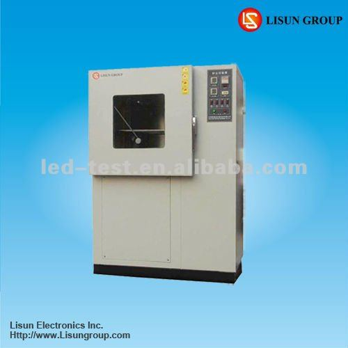 SC-015 sand and dust test cabinet to do LED luminaires/fixture IP5X and IP6X measurement according to IEC60529 and IEC60598