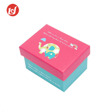 Colorful customer designs rigid gift paper box for christmas