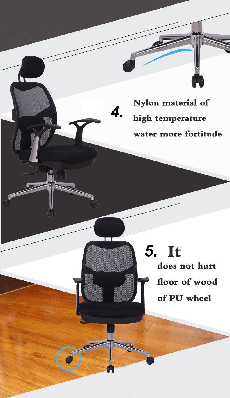 D26# Good quality executive swivel lift mesh ergohuman office chair with low price