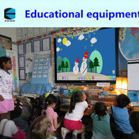 EKAA Smart digital touch interactive whiteboard for classroom