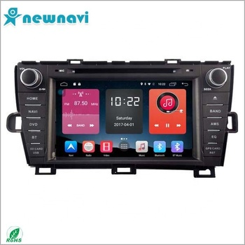 hot selling 8 INCH car dvd android 6.0 for TOYOTA PRIUS