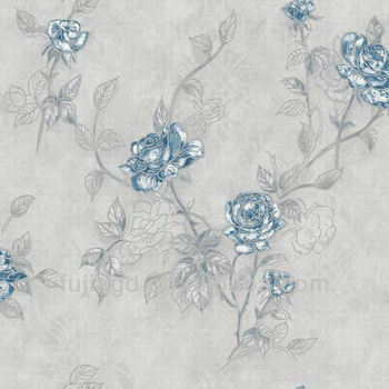 3d embossed flower wallpaper for home decor