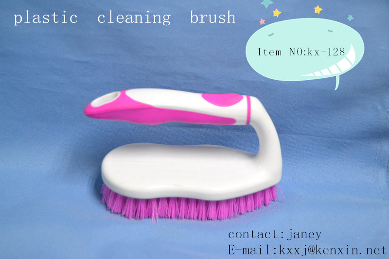 plastic cleaning rubber scrubbing brush/ floor brush/cleaning brush