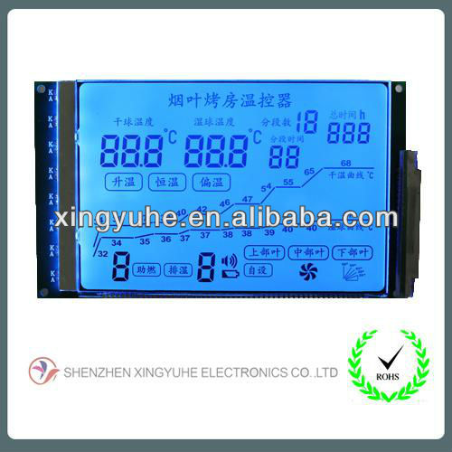 display serial LCD module for electricity meter