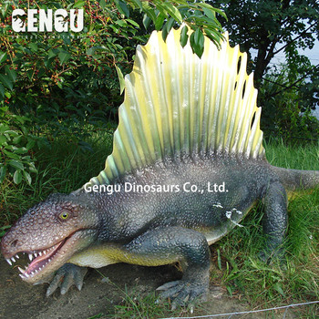 Fiberglass Dinosaur For Children Outdoor Playground Items