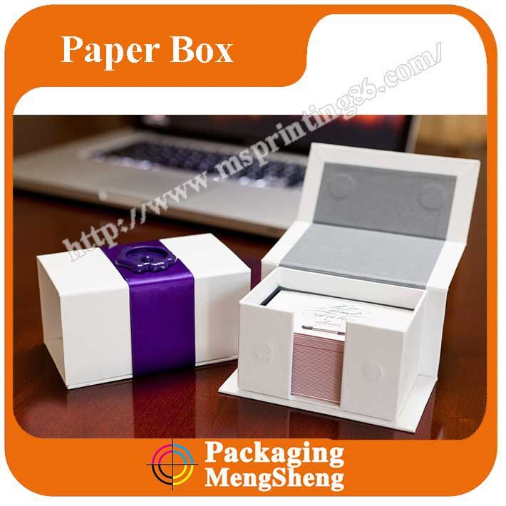Custom super business cards collection boxes