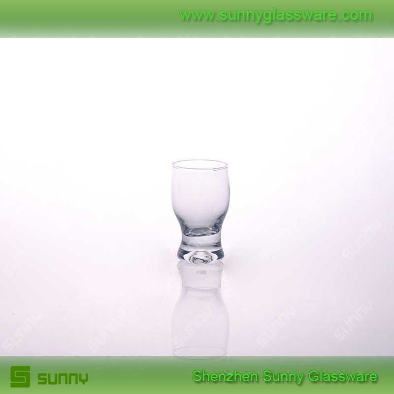 Promotional mini drinking glass for liquid shot glass