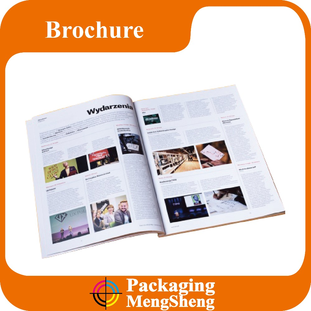 custom hardcover book print cheap softcover catalog printing gloss magazine printing factory shenzhen