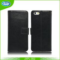 High quality flip leather wallet mobile case for iphone 6