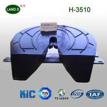 Trailer parts use port trailer butterfly shape holland type fifth wheel