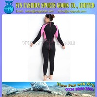 lady fashion colored neoprene wetsuit