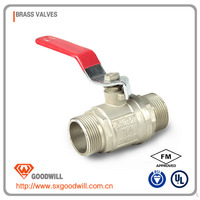 suppliers brass valve ball cock
