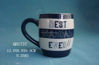 Cheap porcelain mug from ceramic mug factory, accepting custom coffee mug