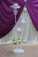 2016 cheap wedding columns/crystal beaded columns wedding decorations/events and party supply