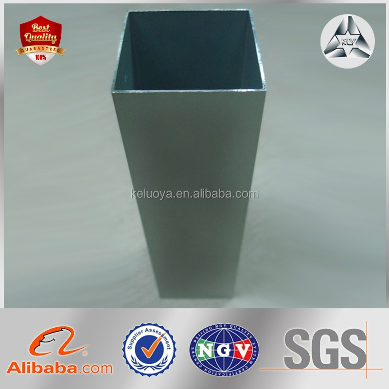 Glazed HDGI Square Steel Hollow Section ERW Carbon SHS Size Square Steel Tube