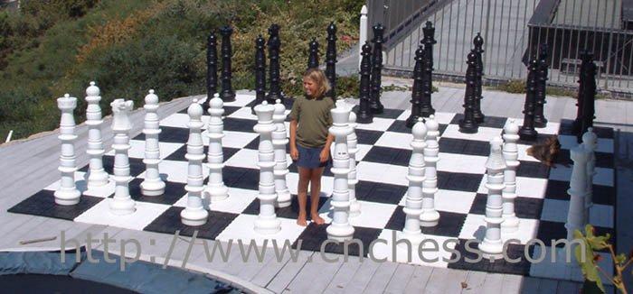 Jard n gigante pieza de ajedrez 36 39 39 rey juegos de for Ajedrez gigante jardin