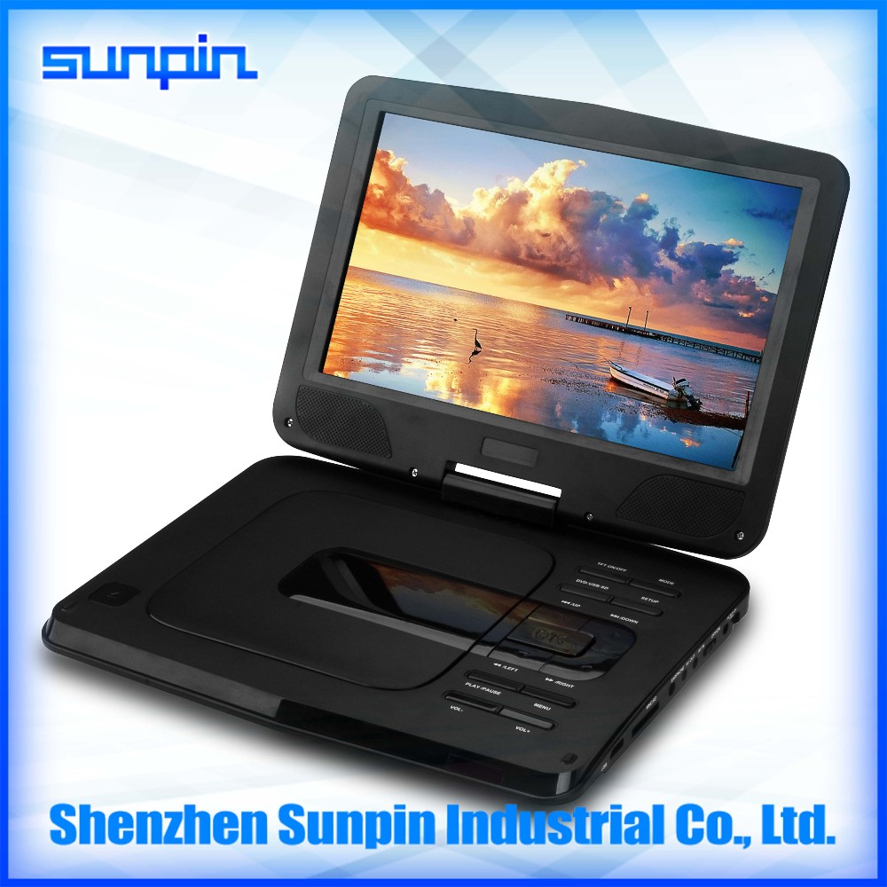 Wholesale factory price portable dvd player -Shenzhen Sunpin