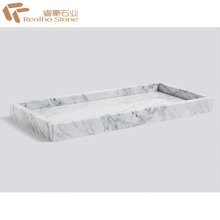 Good Design Carrara White Marble Shower Tray