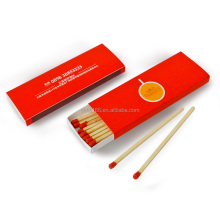 good quality cigar match box ,safety matches with good paper and custom logo printing matches