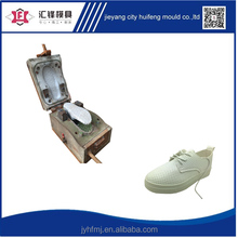 2016 Popular plastic PVC air blowing white shoes for girl Chinese factory shoe mold design