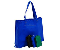 Recyclable jumbo custom cheap price non woven foldable tote bag