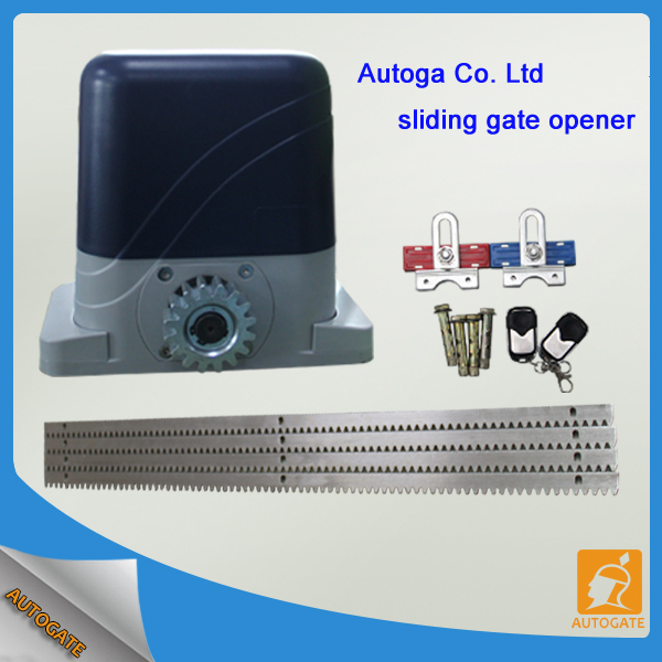 Sliding gate opener automatic gear racks driven