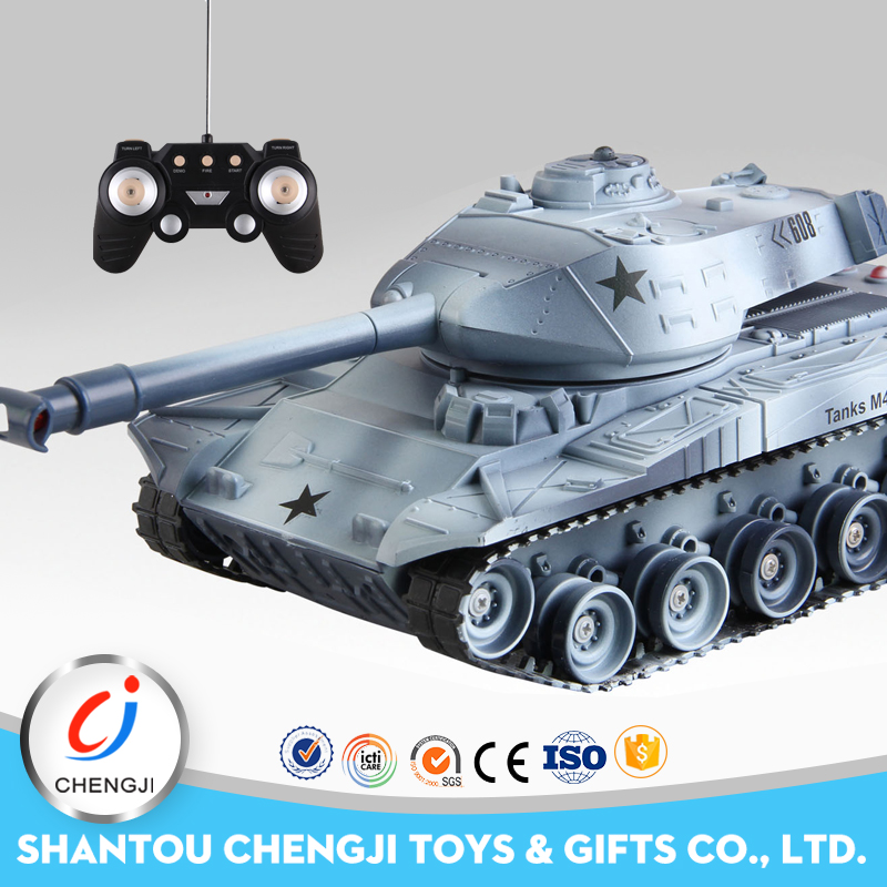Infrared plastic battle tank 1:32 rc military vehicles for sale