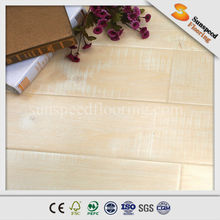High quality HDF AC3 Beveled Painted V Groove Brazilian cherry wood high gloss Laminate flooring
