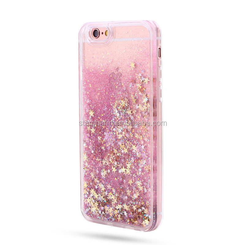 New Luxury Liquid Glitter Star Case Quicksand Bling Cover Clear 3D phone case For Samsung Galaxy j3