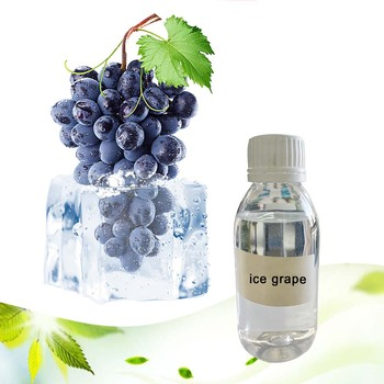 PG/VG based concentrate ice grape flavor used for vape liquid/125ml/500ml/1L